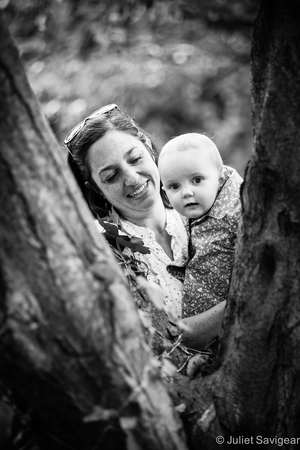 Peek-A-Boo - Family Photography, Waterlow Park, Highgate