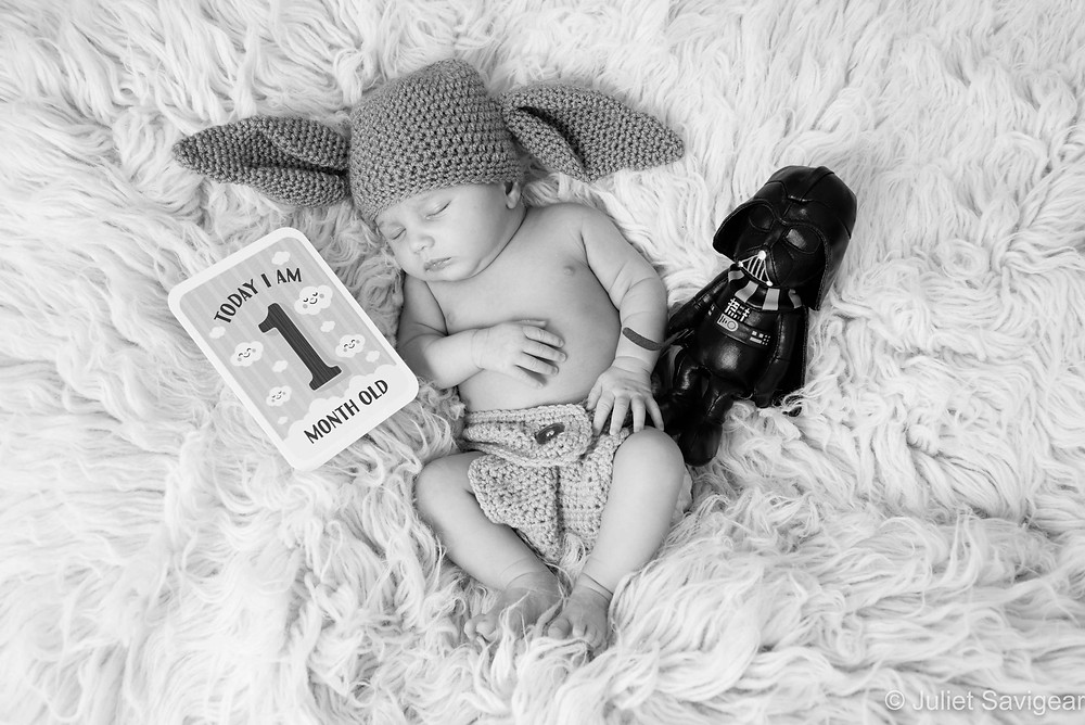 Yoda Baby - Baby Photographer, Kew