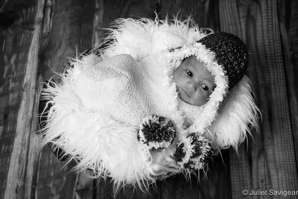 Christmas Baby - Newborn Baby Photography, Fulham