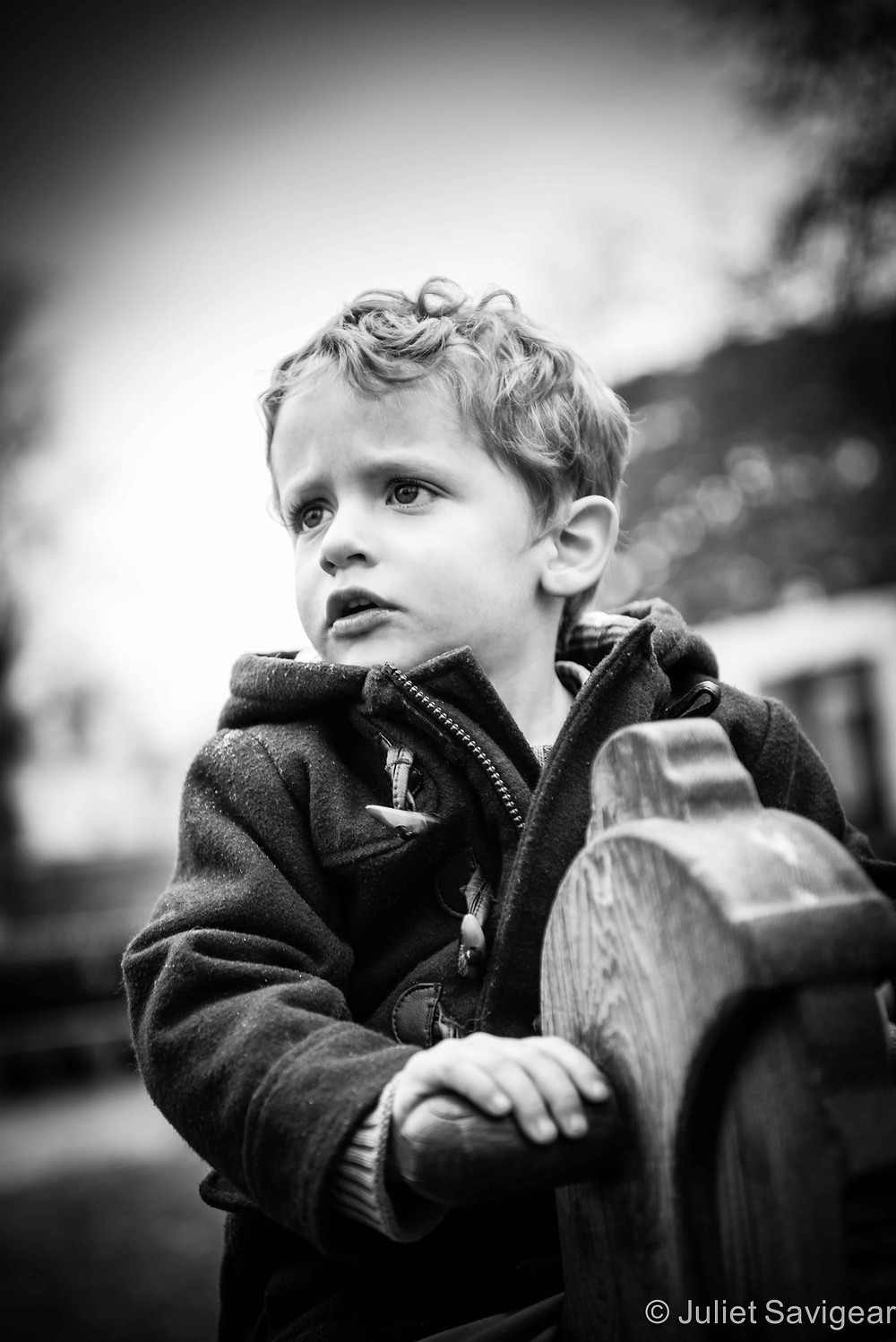 A Serious Look - Children's Photography, Chiswick