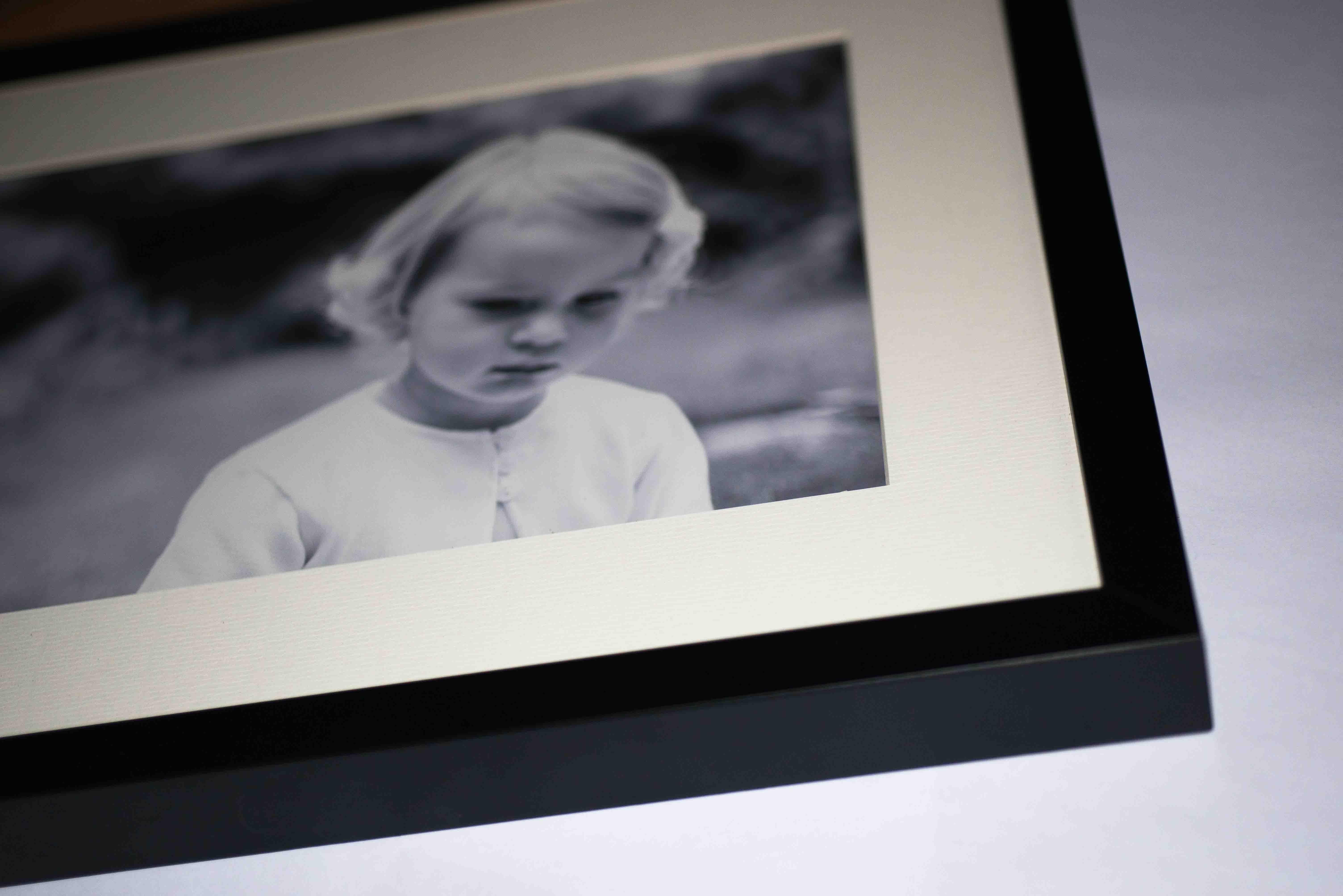 Classic Black Photograph Frames