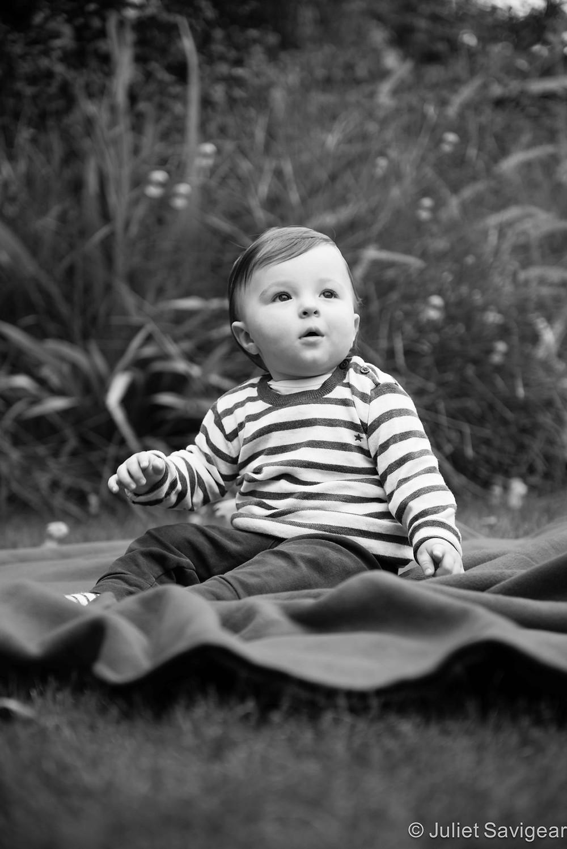 Bubbles - First Birthday Photo Shoot, Wimbledon