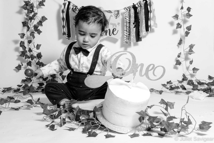Cake Smash & First Birthday Photo Shoot - Mitcham
