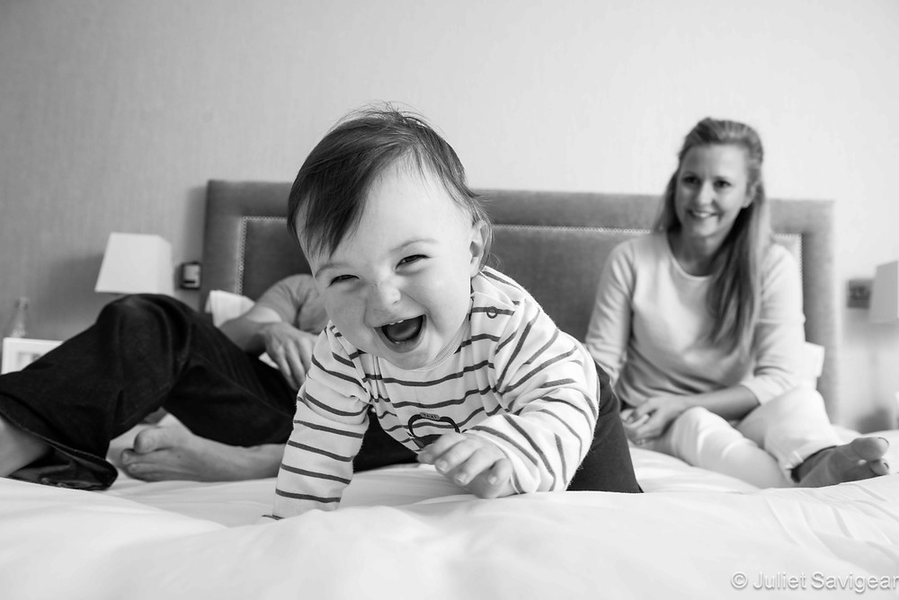 Games On The Bed - First Birthday & Family Photo Shoot, Wimbledon