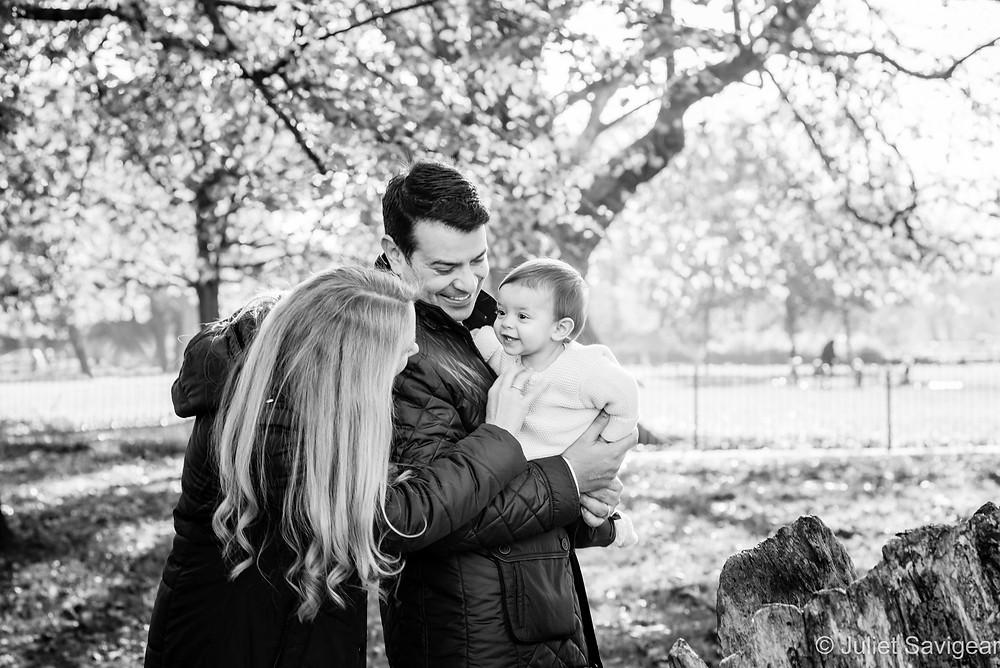 Family photo on Clapham Common