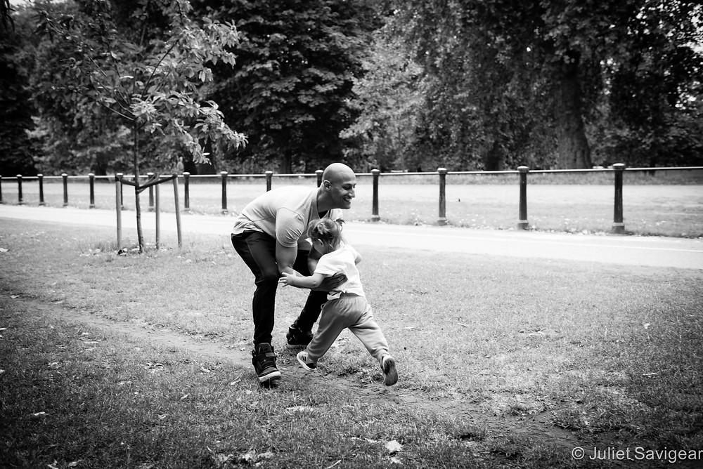 Running - Children's & Family Photography, London
