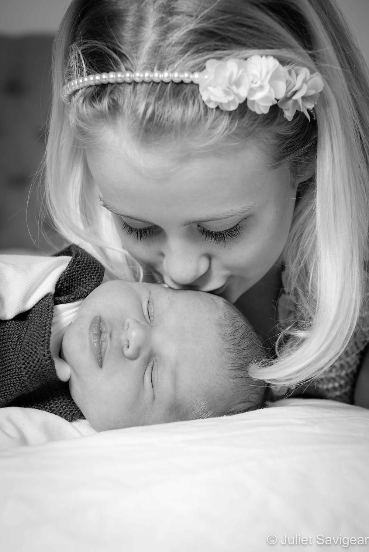 Sister's kiss