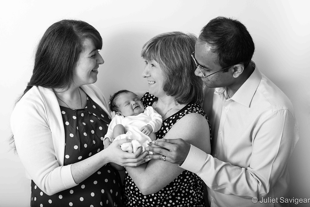 Family With Baby - - Newborn Baby Photography - Isleworth