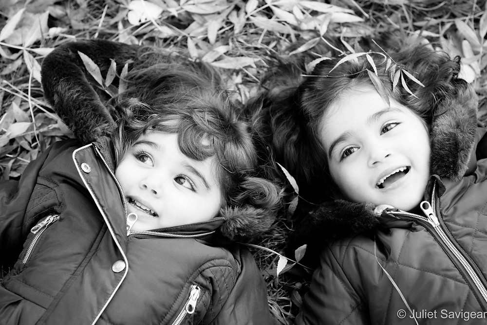 Among The Leaves - Children's Photography, Balham