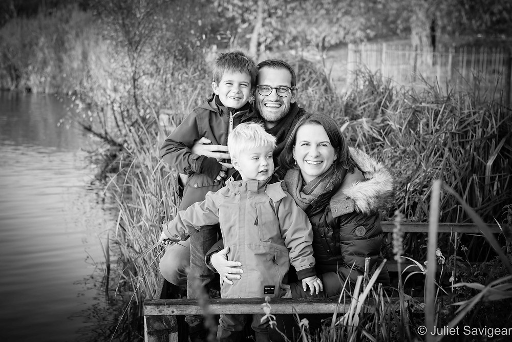 By The Lake - Family Photography, Clapham Common