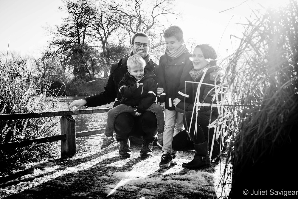 Family on Clapham Common