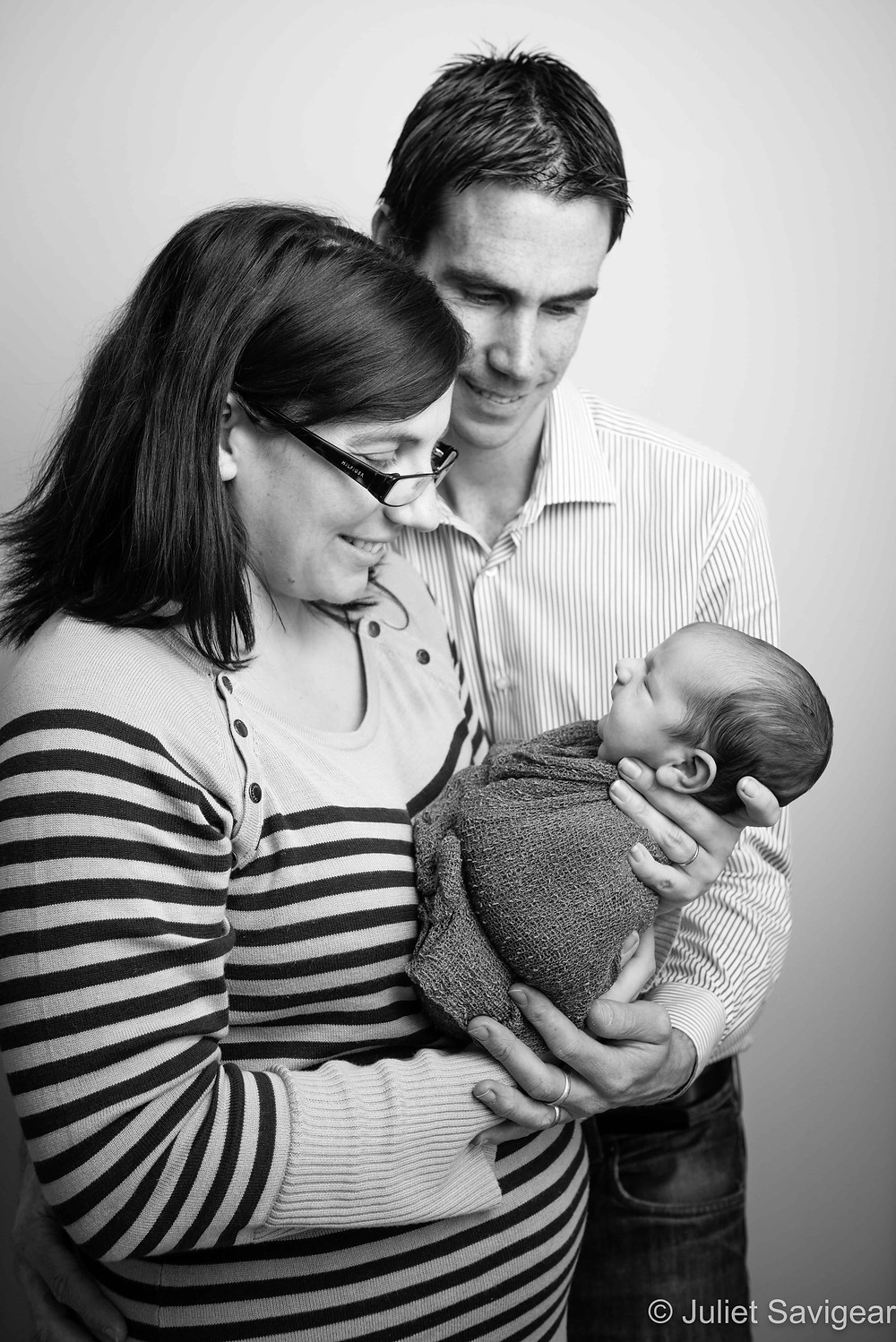 Family Portrait - Newborn Baby Photography, Battersea