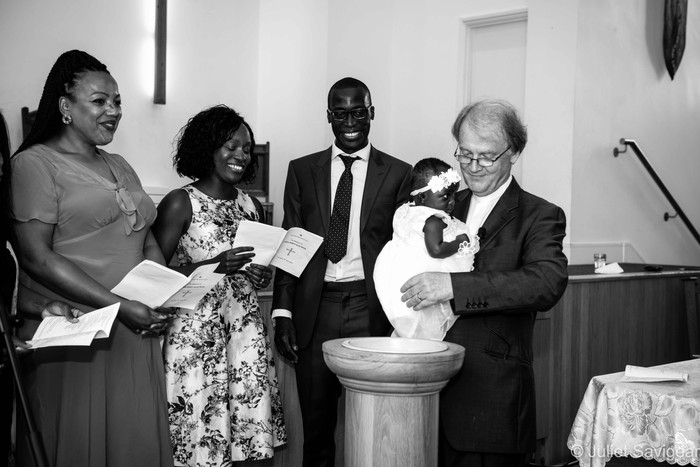 Christening Photographer - Bow, London