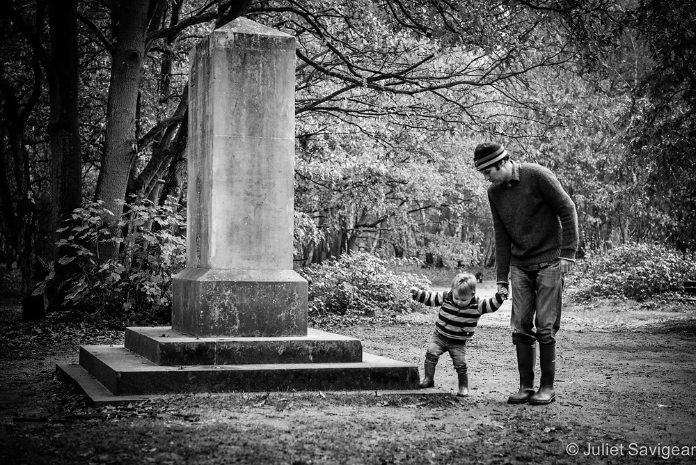 Up & Down The Steps We Go - Family Photo Shoot - Wimbledon Common
