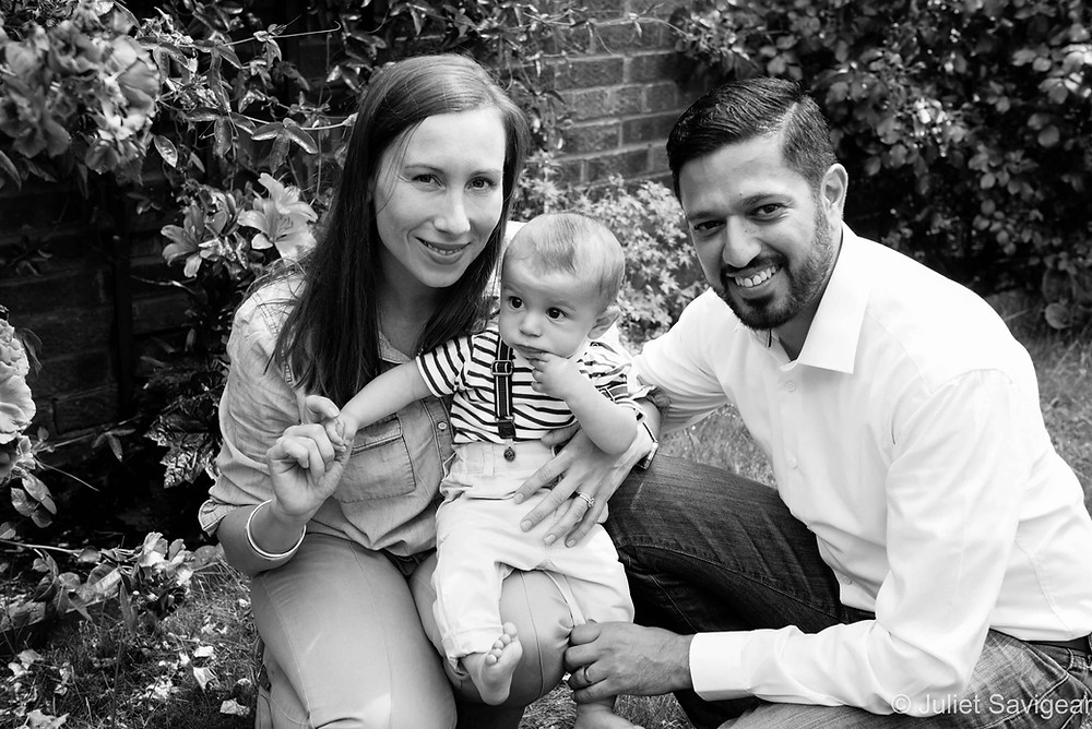 Family Portrait - Baby Photography, Ealing