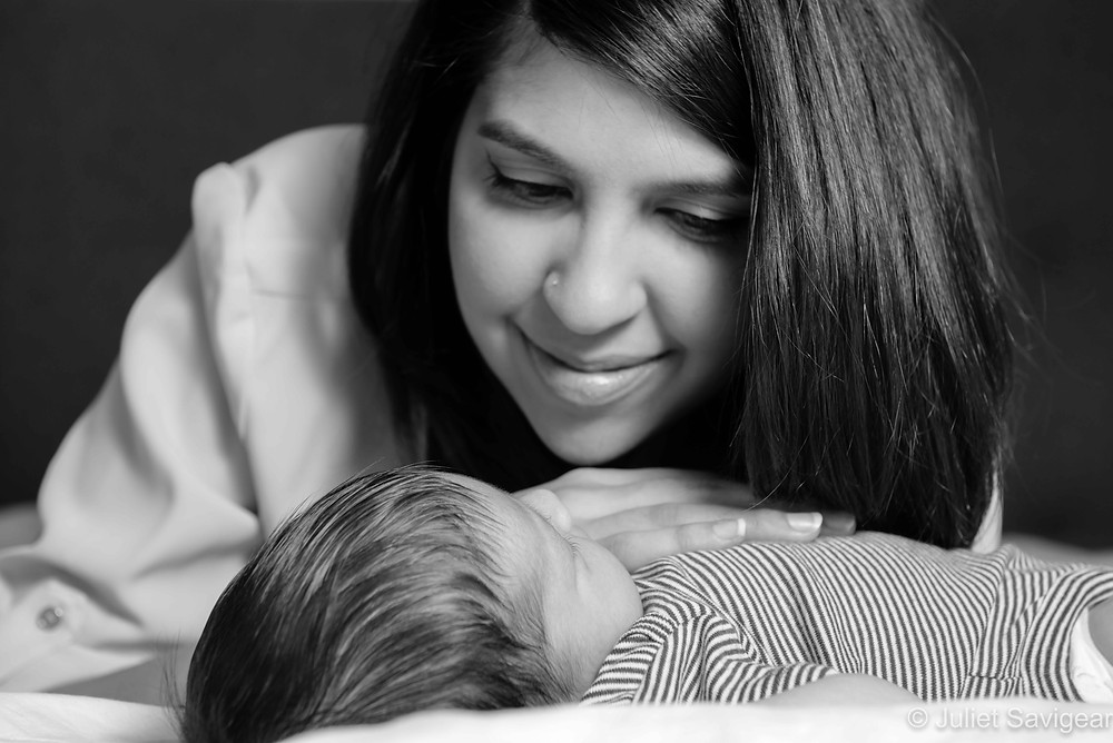 Natural mother & baby photography