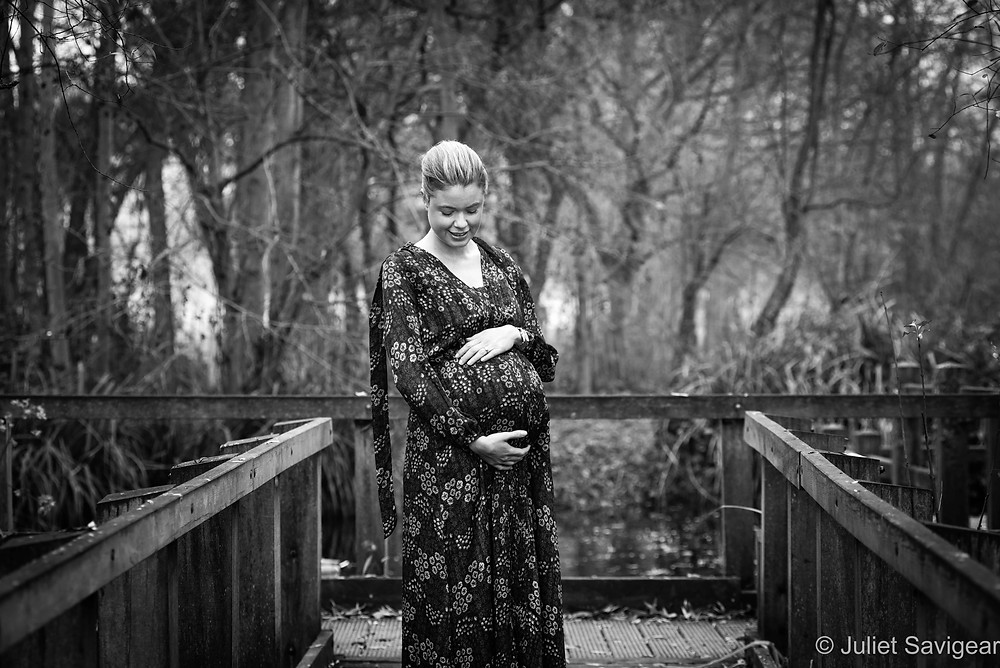 On The Boardwalk - Maternity Photography, Wandsworth Common