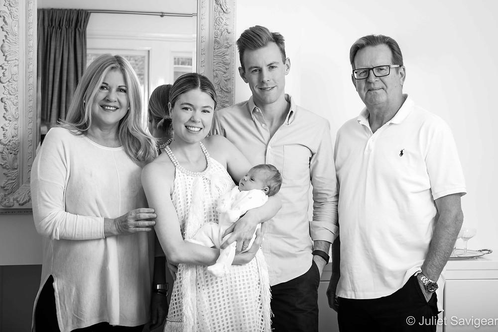 Family Portrait - Newborn Baby Photography - Balham