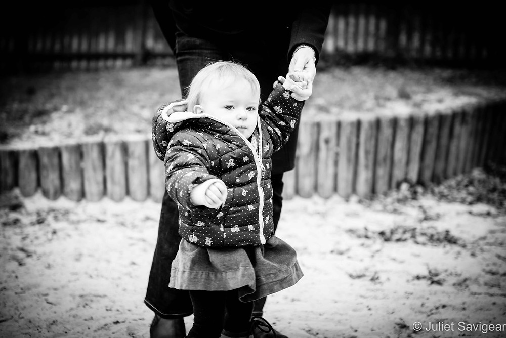 A walk In The Sand Pit - Baby Photography, Belsize Park