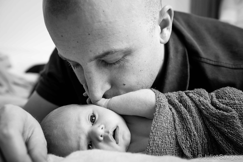 Whispers From Daddy - Newborn Baby & Family Photography, London Bridge