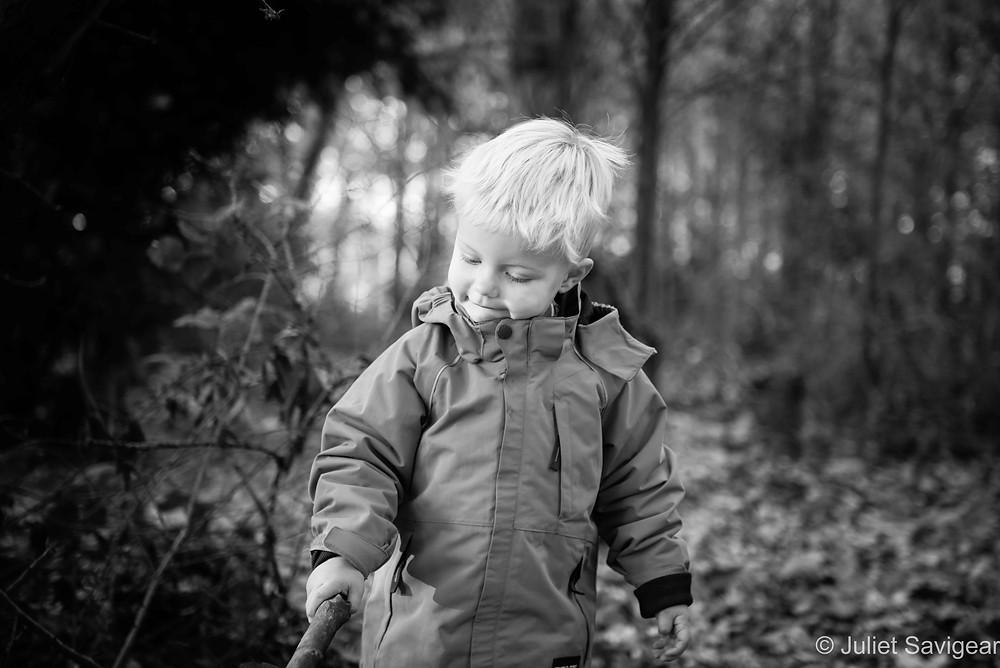Sticks - Children's Photography, Clapham Common