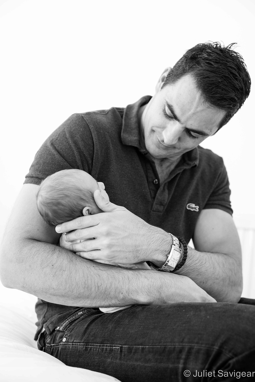 Daddy's Girl - Newborn Baby & Family Photography, Putney
