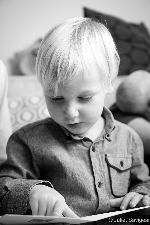 Reading! Toddler Photography, Honor Oak, London
