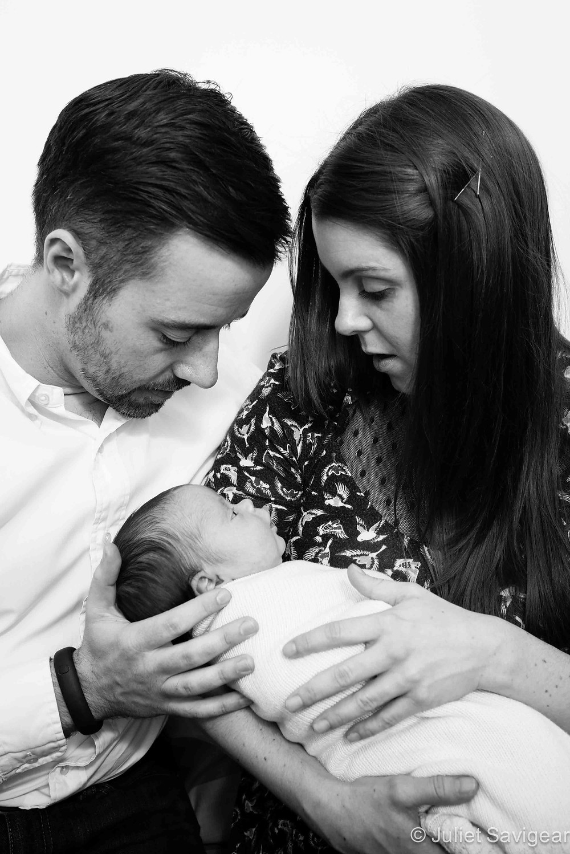 Family Photo With Baby - Newborn Baby Photography, Balham