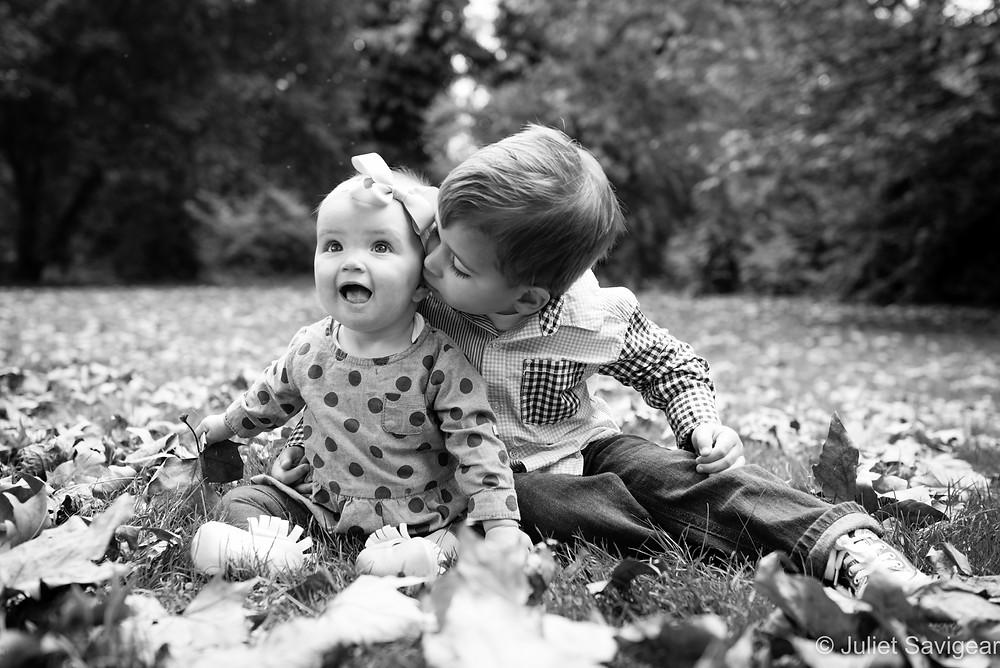 Kiss! Children's Photography - Southwark Park, London