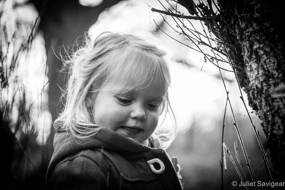 Among The Twigs - Children's Photography, Hampstead Heath