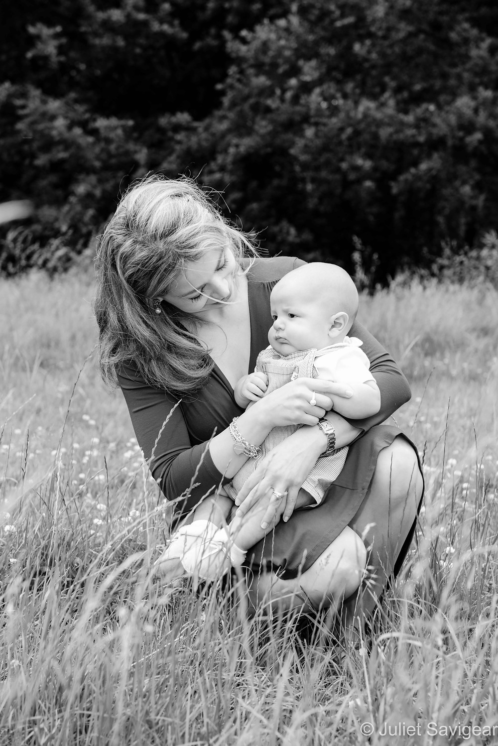 Mother & Baby On Wandsworth Common