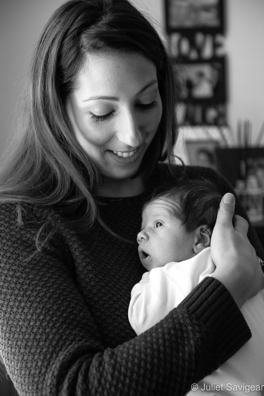 Mother & Baby - Newborn Baby Photography - Streatham