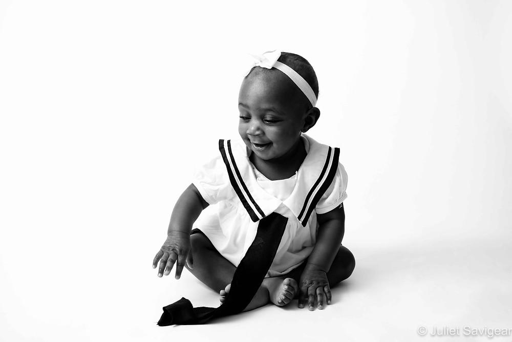 Baby sailor girl