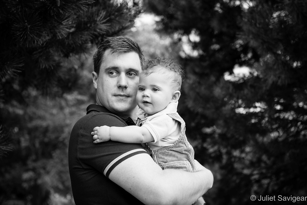 Father & Son - Baby & Family Photography - Wandsworth Common