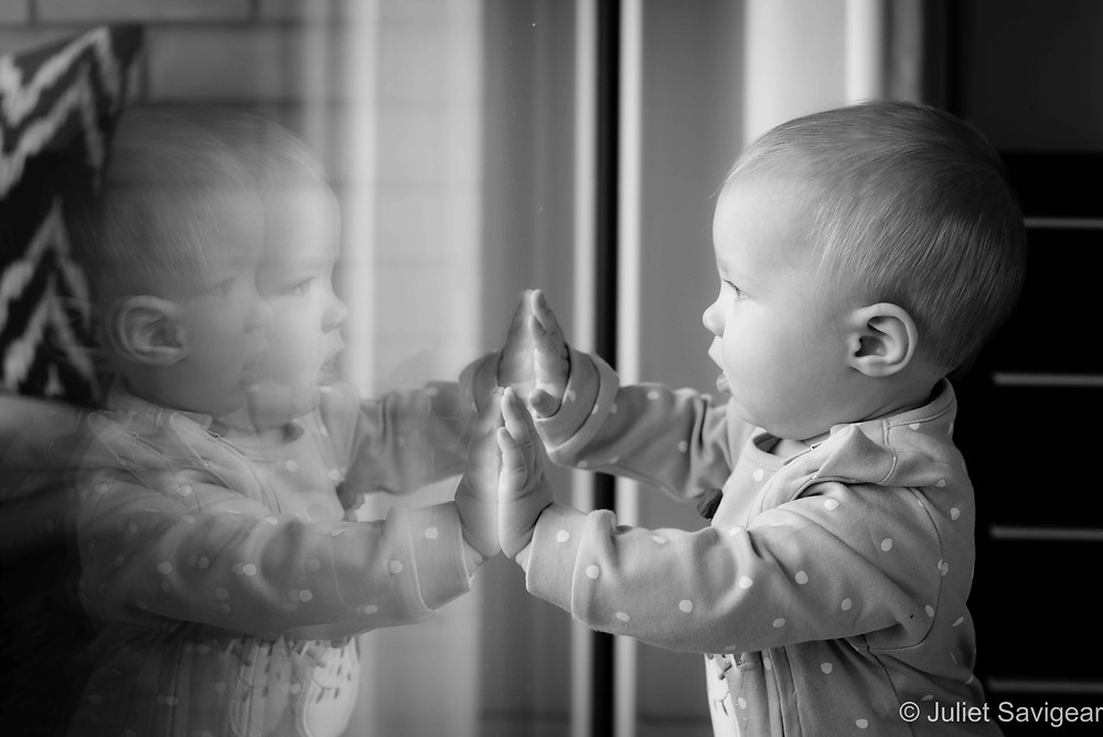 Baby reflections