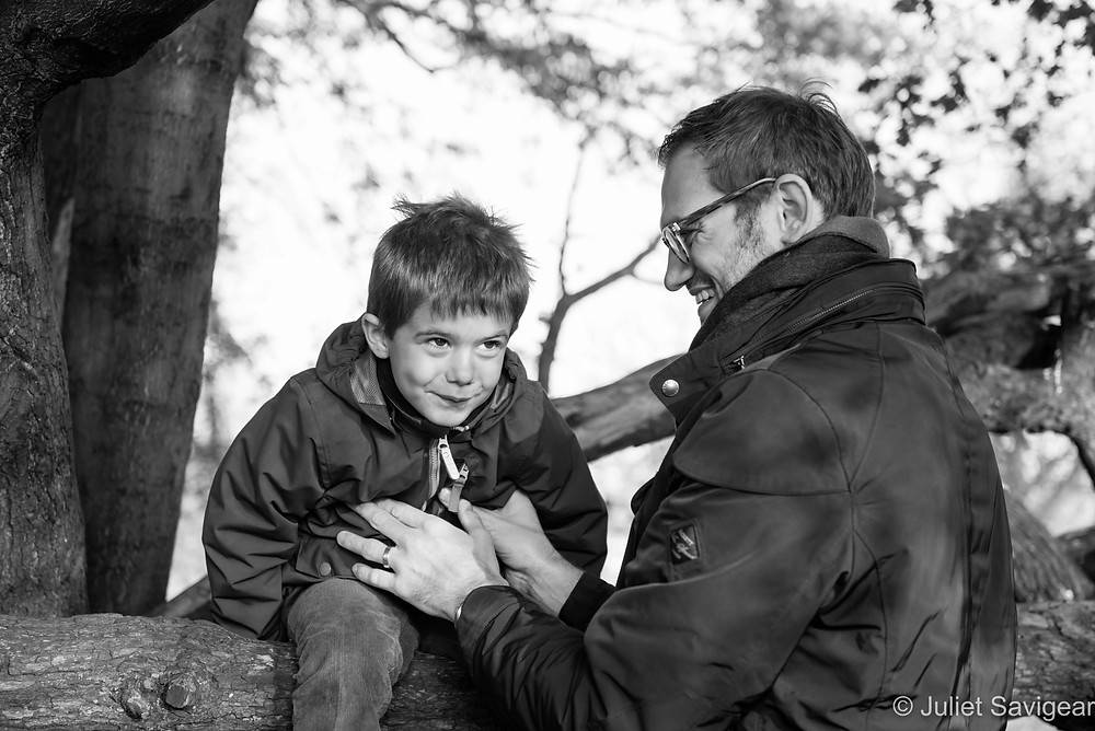 Father & Son - Children's Photography, Clapham Common