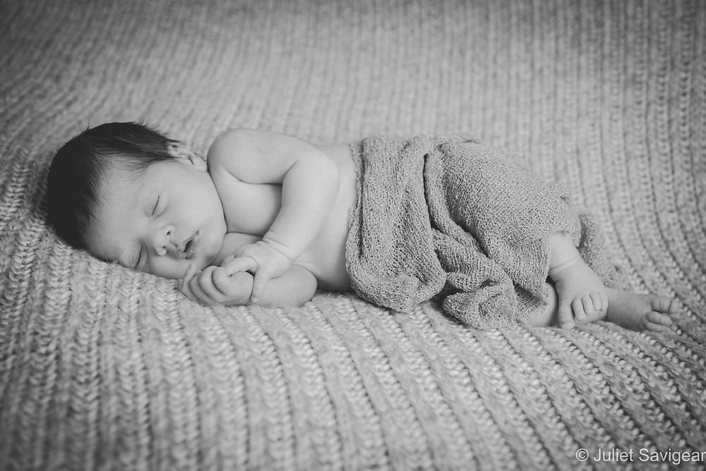 Sleeping Baby - Newborn Baby Photography - Streatham