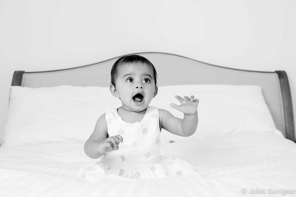 baby photography at home