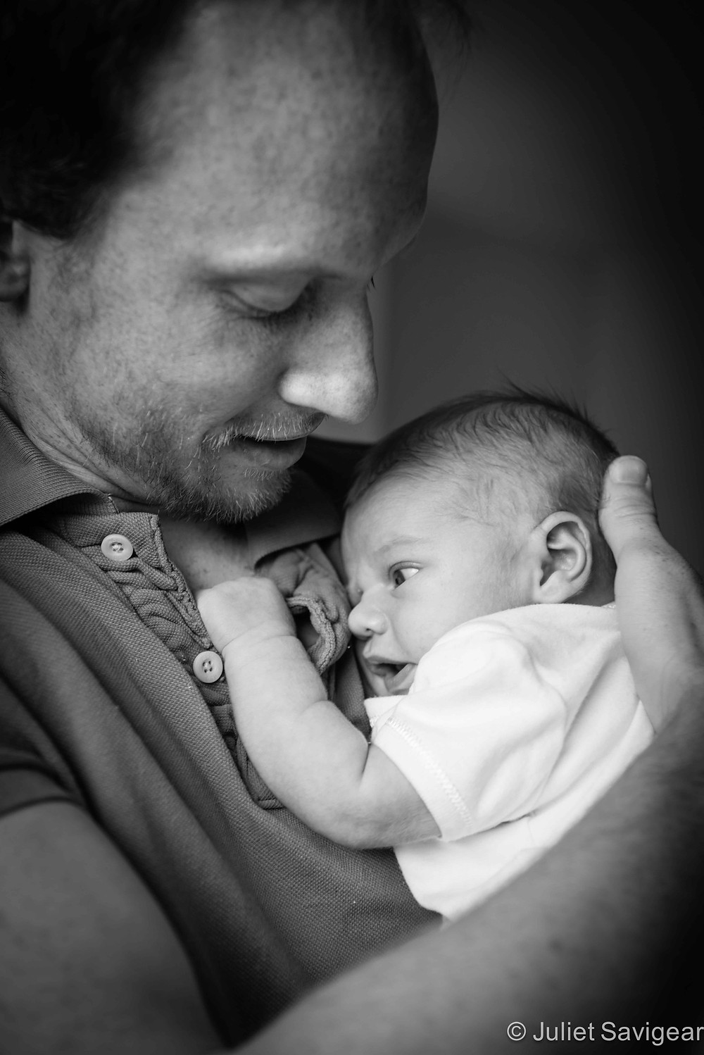 In Daddy's Arms - Baby & Family Photography, Greenwich