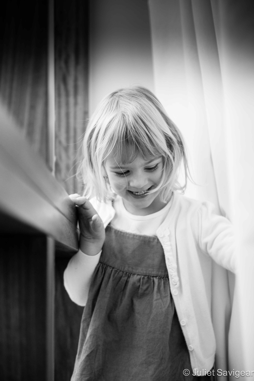 Is Monkey Behind The Curtain? Children's Photography, Purley
