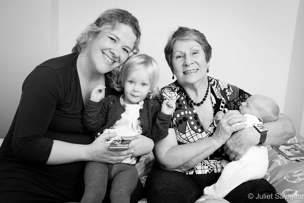 Family Portrait - Newborn Baby & Family Photography, Wimbledon