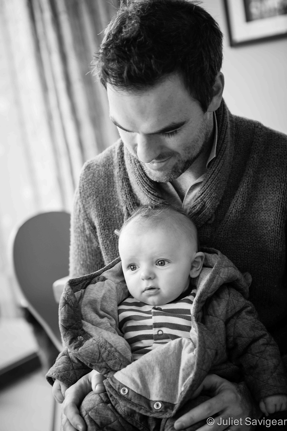 Getting wrapped Up - Baby & Family Photography, Balham