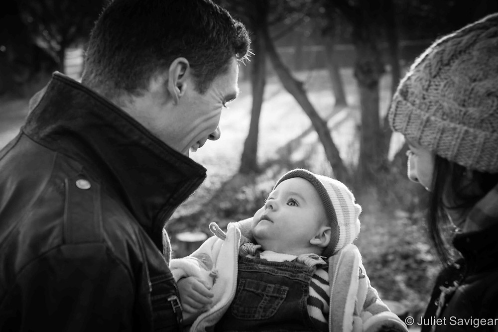 A Winter's Walk - Baby & Family Photography, Wimbledon Park