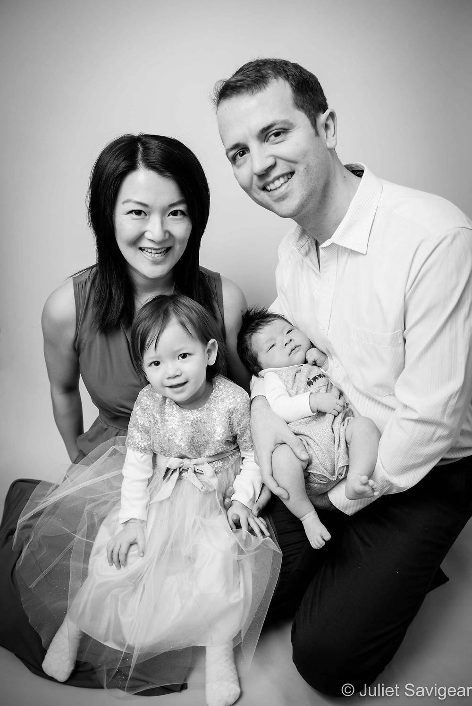 Family Portrait - Children's Photography, Clapham