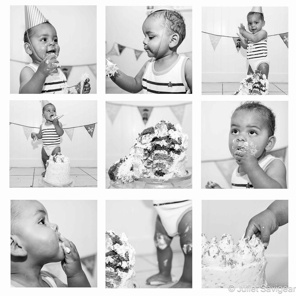 Cake Smash - First Birthday Photo Shoot, Kensal Green