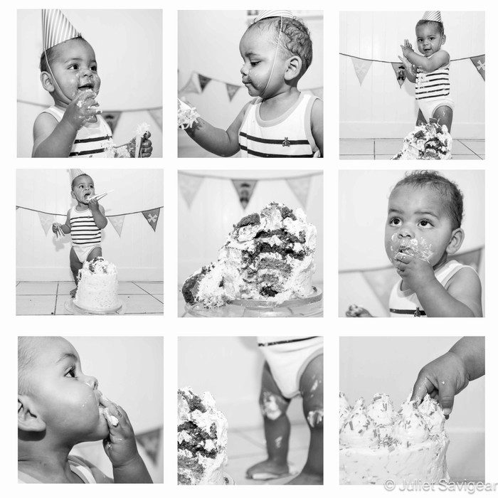 Cake Smash & First Birthday Photo Shoot - Kensal Green
