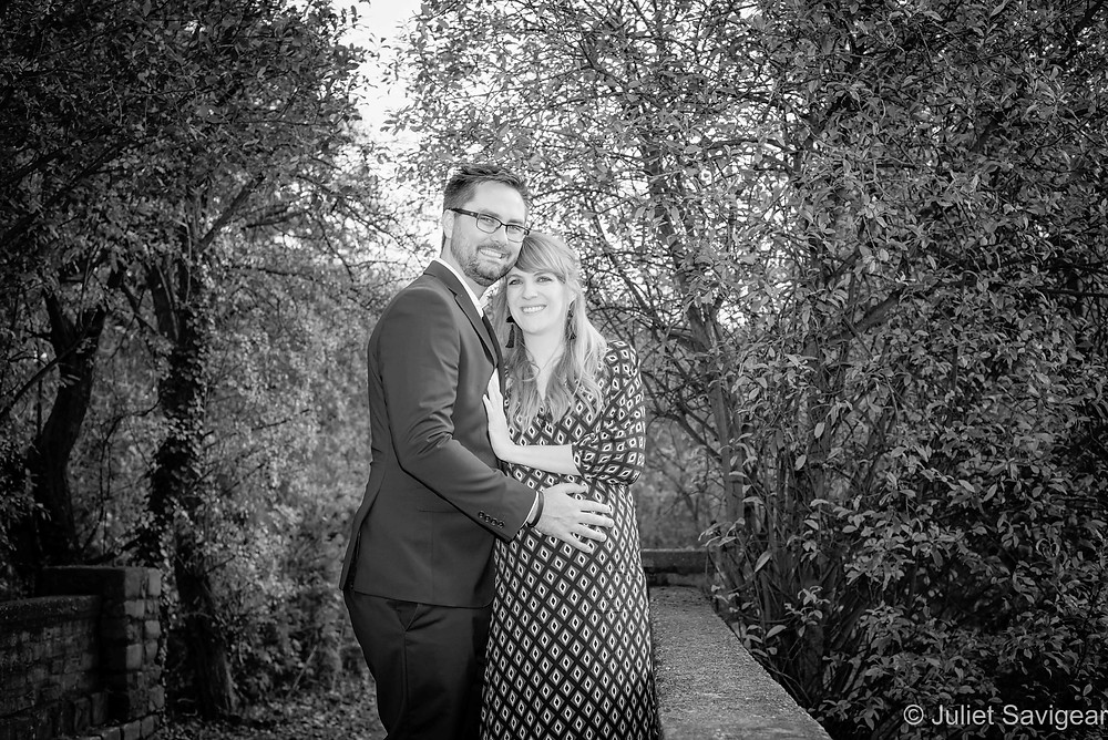 Pregnancy photography on Wandsworth Common