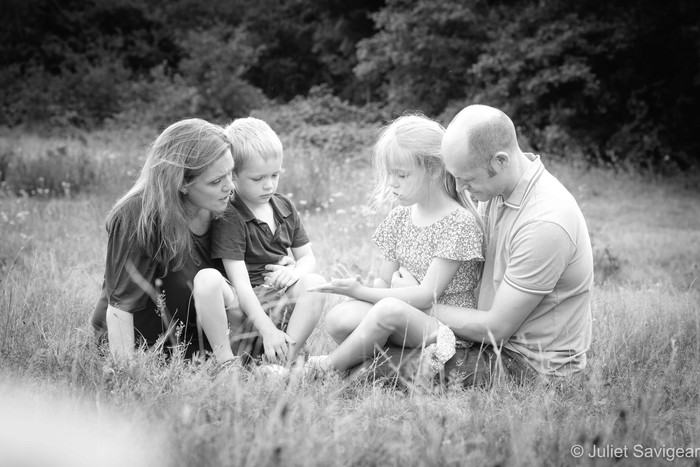 Outdoor Family Photo Shoot - Hampstead