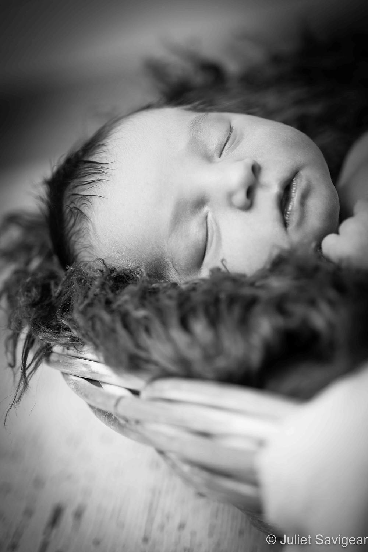 Sleepy Head - Newborn Baby Photography - Earlsfield