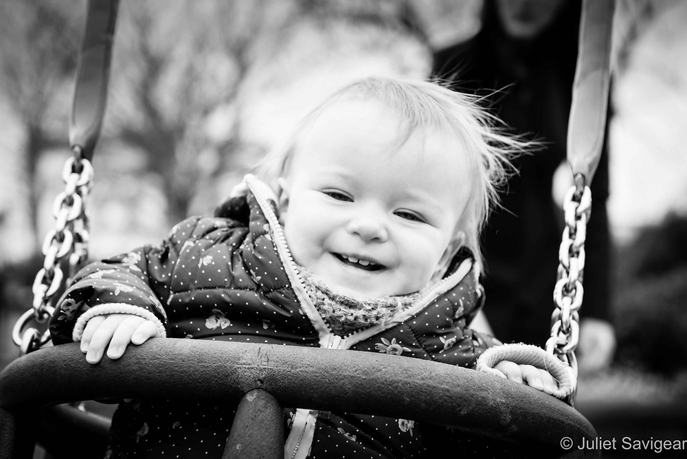 Big Swing! Baby Photography, Belsize Park